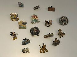 Walt Disney World Lot Of 16 Trading Pins - Mickey Mouse, Toy Story, And More