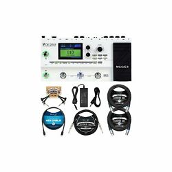 Mooer Ge250 Guitar Amp Modelling And Multi-effects Pedal Bundle With Blucoil ...