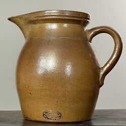 Late 19th Century Charles Graham Chemical Pottery Works Pitcher