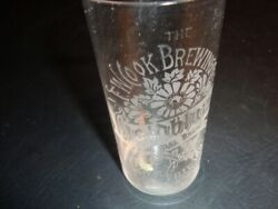 Circa 1910 Cookandrsquos Goldblume Etched Glass Evansville Indiana