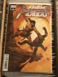 Savage Avengers 17 Conan The Barbarbian Vs Deadpool Em Gist Painted Cover 2021