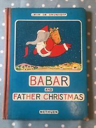 Jean De Brunhoff Andndash Babar And Father Christmas Andndash First Edition 1940 - Methuen