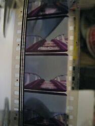 Vintage 35mm Drive-in Theater Color Film, 15'' Goldberg, Virginia, King's Dom.