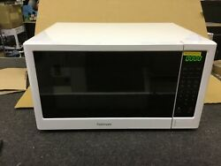 Kenmore 1.6 Cu. Ft. Countertop 1100 Watts Microwave Oven - White - Dented On The