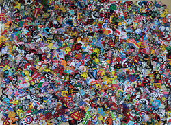 Wholesale Set 1000 Pcs Mix Sew Iron On Patch Catoon Character Movie Logo Other