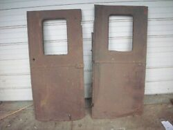 1928 1930 Ford Model Aa Panel Delivery Truck Rear Doors 28 29 30 31 A