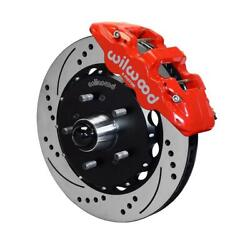 Wilwood 140-12824-dr W6a 14.25 Front Disc Brake Kit, 1997-04 Ford F150