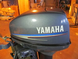 Oem 2003 And Up Yamaha Outboard 9.9msh 2 Stroke Top Cowling Cover 63v-42610-30-4d