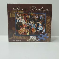 """Susan Brabeau """"lucky Marbles"""" 500 Piece Jigsaw Puzzle - Brand New/sealed"""