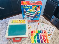 Vintage Fisher Price Play Desk 1972 - With Box Very Good Condition