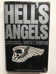 Hunter S. Thompson's Hell's Angels First Uk Edition, First Printing