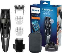 Philips Bt7520/15 Series 7000 Hair Clippers With Sistema Vacuum For Pick Hair