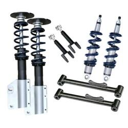 Ridetech 12140210 Complete Hq Series Coilover Kit, 94-04 Mustang