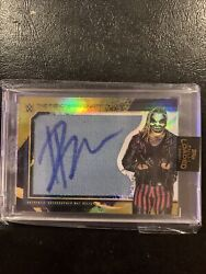 2020 Wwe Fully Loaded The Fiend Bray Wyatt Gold Mat Relic Auto 1/1