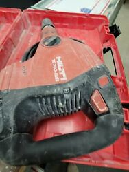 Hilti Te 700 Avr Breaker Hammer Preowned, Free Shipping, 3 Chisels.w/ Case