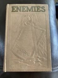 Enemies Watch Tower Bible And Tract Society 1937 Rare J. F. Rutherford. Rare