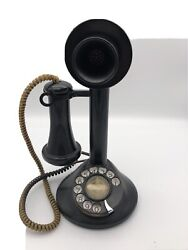 Vintage Candlestick Phone By American Electric All Original Great Condition