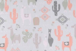 Wonderful And Whimsical Nursey/childs Room /juvenile Cotton Print Fabric 3yards