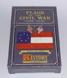 Flags Of The Civil War, History Channel Club, Deck Of Playing Cards
