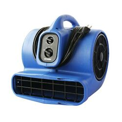Xpower X-800tf 3/4 Hp Air Mover, Carpet Dryer, Floor Fan, Utility Blower - Wi...
