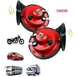 10x300db Super Loud Train Horn For Truck Train Boat Car Air Electric Snail