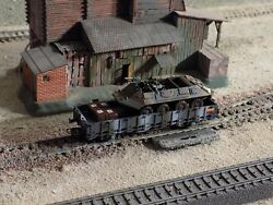 Roco, Military Wagon With One Tank Loaded, Scale H0/ho