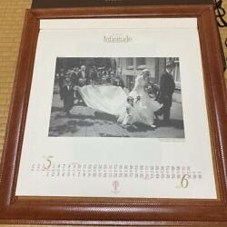 Schedoni Takami Bridal Calendar Wall Hanging Picture Frames Hobby Used