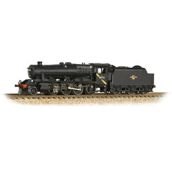 Graham Farish 372-163ds Lms Stanier 8f Br Black W/ Dcc And Sound Installed N Scale