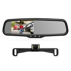 Auto-vox T2 Backup Camera Kit,oem Rear View Mirror Monitor With Ip68 Waterproof