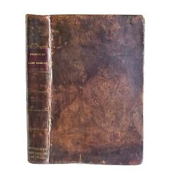 France By Lady Morgan Rare Antique History 1817 Leather Louis Xviii Era
