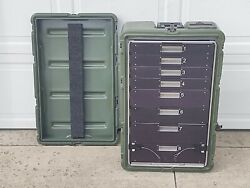 Hardigg Pelican 472-medchest38 8 Drawer Medical Chest /case 30x18x10
