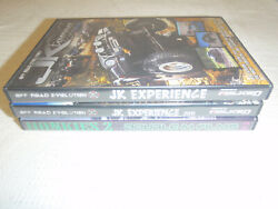 Off Road Evolutions Jk Experience 10 11 House Of Diesel Lot Of 3 Dvds Jeep