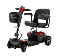 Pride Mobility Zero Turn 8 4-wheel Mobility Scooter 325 Lb Weight Capacity