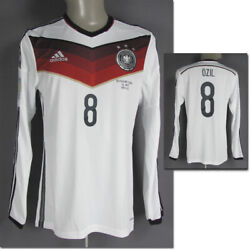 World Cup Football 2014 Dfb Match Issued Players Jersey Shirt
