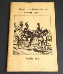 Zm Military Research Co Goods Antique Weapons Medals Flags Helmets Catalog No 2