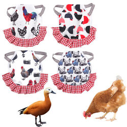 Fabric Cloth Chicken Saddles Hen Apron Poultry Chicken Jacket Vest Clothes