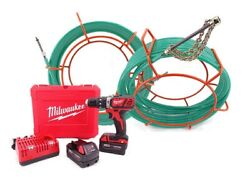 Customeyes Ce38kit100m 100and039 Cyclone With Milwaukee Drill Set Ce2607-22