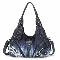 Handbag Hobo Women Bag Roomy Multiple Pockets Street ladies#x27; Shoulder Bag $32.99