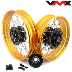 Vmx 3.019/4.2517'' Tubeless Wheels Rims Set For Africa Twin Crf1000l 2016-2020