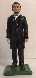 Ron Wall Classic Miniatures Abraham Lincoln Pewter Figure