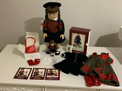 1986/1991 Pleasant Company Molly Mcintire American Girl Doll Setextremely Rare