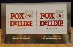 Fox Deluxe Cold Spring Brewing Cold Spring Mn Unrolled 12 Oz Beer Can