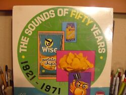 1971 Borden Wise Potato Chips The Sounds Of Fifty Years 1921-1971