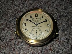 Hamilton Model 22. Chronometer Watch In Shipping Container And Mounting Box, L@@k