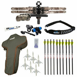 Excalibur Twinstrike Crossbow Hunter Package - New For 2021 - Truetimber Strata