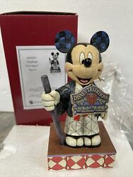 New Rare Jim Shore Mickey Mouse Greetings From Japan 4043632