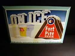 Circa 1950s Fort Pitt Beer Toc, Baltimore, Maryland