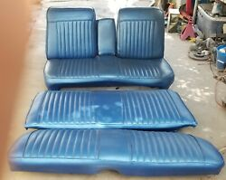 Mopar A-body Front Bench And Rear Seat Duster