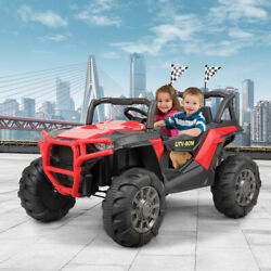 12v Electric Kids Ride-on Car Suv With Mp3 3 Speeds Led Lights Bluetooth 2.4g Rc