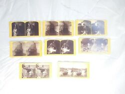 Fine Group Of 8 Hh. Bennett Stereoviews Wandering Wisconsin 1870s Sv Photo Lot